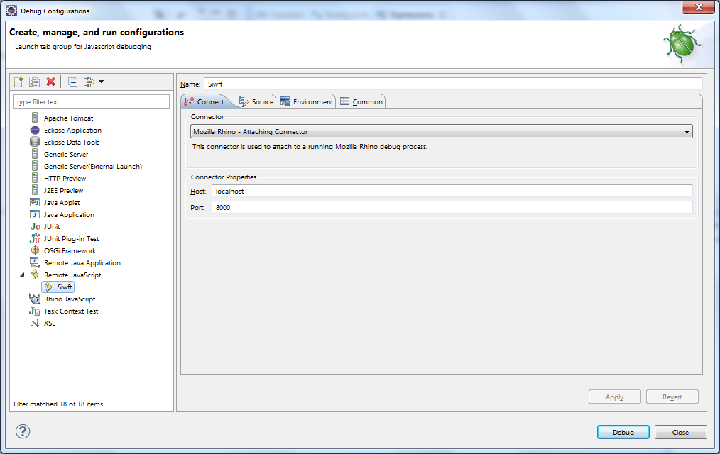 Debugging Alfresco #1 – Eclipse JavaScript Debugger and Alfresco