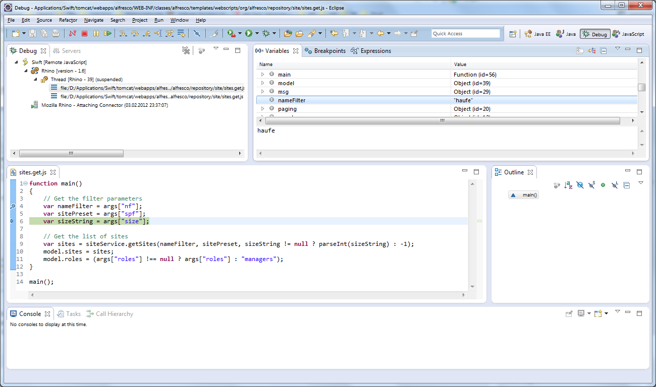 sauberer html code